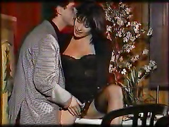 Beatrice valle french classic 90s double penetration