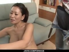 Rei Kitajima enjoys cock in mouth and in the pussy