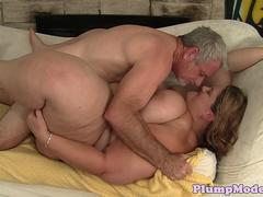 Fingerfucked SSBBW spreads her legs for cock
