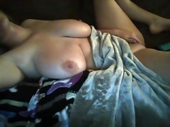 #2 Making love sexy blonde with sizeable natural tits - no names!