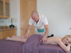LIly Rader and her big cock masseur have hot sex