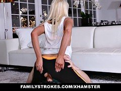 Familystrokes - Sexy Step-Mom Fucked After Working Out