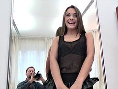 Dominica Phoenix is assfingered throated and analed by Rocco