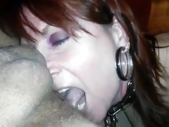 Nasty Milf Gives Rimjob