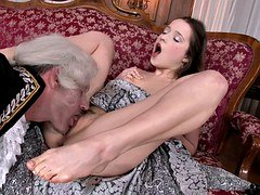 Vintage Anal Porn With Elated Teen