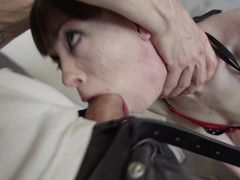 A big dick is penetrating a hot slut with a sexy ass in this video