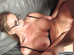 Mom Kylie Worthy gets fucked by a BBC