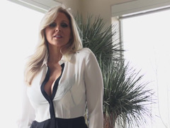 Experienced blonde MILF wants a hard dick in her tight vagina