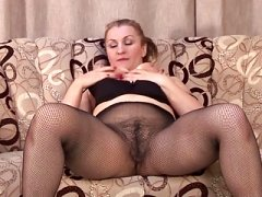Hot non-pro aged mom and besides wife feeding her old cunt