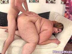 Massivetits fat BBW gets her cunt fucked