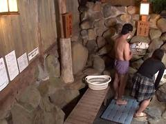 beautiful wife that remains is left in mixed bathing feature movie 1