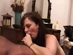 Milf gets all holes used by bbc.