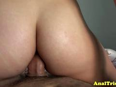 Latina girlfriend cockriding with tight ass