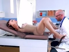 Doctor and his slutty patient Cytherea fucking