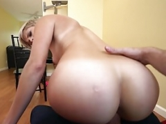 Mofos - Pervs On Patrol - Huge Butt Blonde Makes Sex Tape For