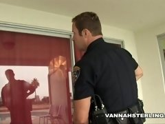 Hotwife gets Cop Cock in her Asshole after 911 Call