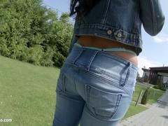Perfect creampie for hot Athina by All Internal