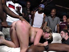 HotWife Brooke Wylde Gets GangBanged In Front Of Her Cuckold