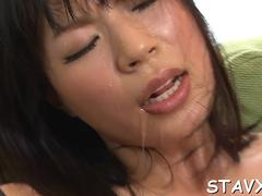 excessive japanese blowjob hot