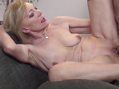Granny old but still ready for young cock