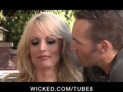 CHEATING Large Titty Porn model STORMY DANIELS Gets down and dirty STRANGER...