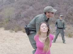Slut Bliss Dulce anal fucked by BP agent