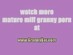 Granny Hungry For A Big Black Cum cannon