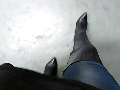 My oldest thigh boots
