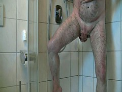 hot daddy shower time