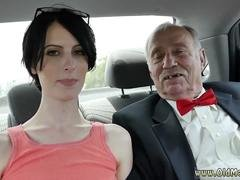 Teen babe gets used by some dirty old men