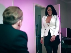 Brazzers - Melons at Work -  Take Your 18-19 year old To Work Day sc