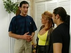 Shaggy hoe with swimsuit and plus nylons has an intercourse German guy