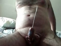 Electro Stim Big Male orgasm
