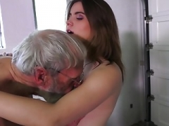 Such an innocent small youthful honey pot for an old horny guy