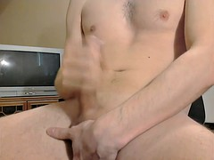 James jerked off and fingering herself