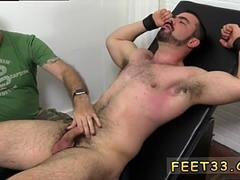 Gay bare feet tickled and gay mens legs first time Dolan Wolf Jerked  Tickled