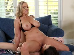 When Girls play - Teen gets fucked by step mom