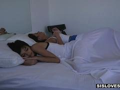SisLovesMe - Tiny Step-Sis Groped and Fucked