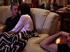 Casey Calvert Gets Analized By Her Stepbrother