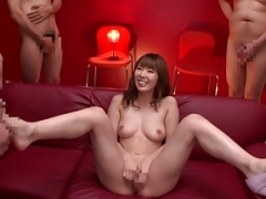 Subtitled JAV legend Yui Hatano nude self-satisfaction party
