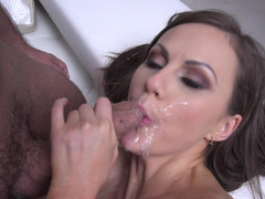 Bitch loves sucking, anal fucking, and facial cumshot