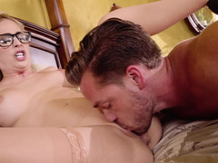 Stepmom takes a hard fucking from her horny stepson