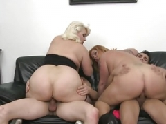 Sofia and Alexa mature mothers changing sons