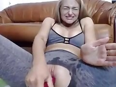 Gode, Masturbation, Chatte, Gicler, Jouets