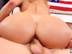Nice Tits Blonde MILF And Long Thick Cock Fucked Alexis Fawx