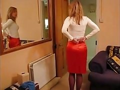 Girl In Stockings and Various Girdles