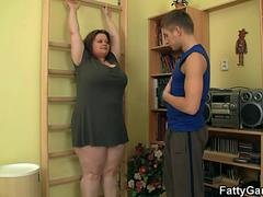 fitness instructor bangs bbw from behind movie
