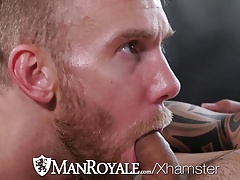 ManRoyale Brenner Bolton pounds Damien Michaels tight ass