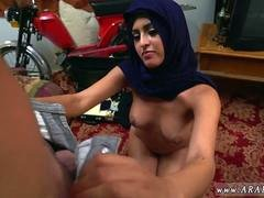 French arab amateur first time Took a ubersexy Refugee home