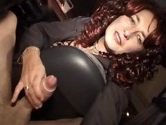 French unshaved mature anal